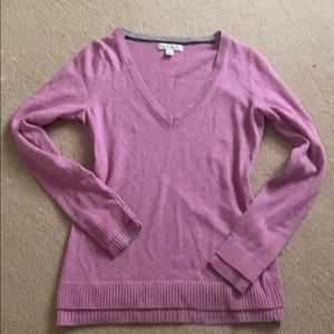 {Banana Republic} beautiful pink sweater